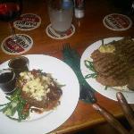porterhouse y T-bone steak