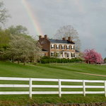 Rainbow over Middleton Inn