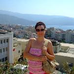 Overlooking Rhodes Town