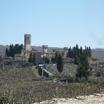 View from the road of San Donato - very close medieval village