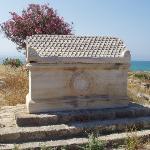 A Marble Sarcophagus