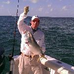 Jack caught while Tarpon fishing...good fight