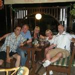 great late night at yia mas with great friends and great bar owner george
