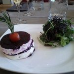 Salad beetroot & cream cheese