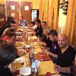serata della paella catalana