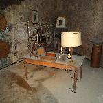 Historischer Kellereiarbeitsplatz