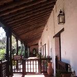 Galerías interiores Convento San Francisco - Santa Fe