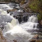 River & mini falls