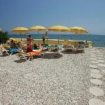 Plage privée hôtel LIDO BEACH 2