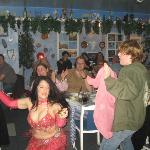Our Belly Dancer and Kaleb