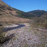 River running through campsite