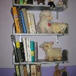 Books, magazines, and sheep