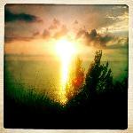 Sunset near Tip Top