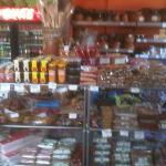 Candy and kitchen stuff