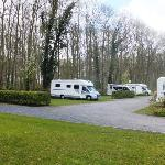 Our motorhome at Camping Memling