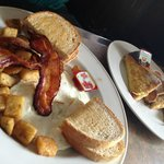 Bacon & Eggs, French Toast