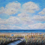 Hilton Head Beach - Oil