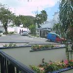 Balcon vue de la rue