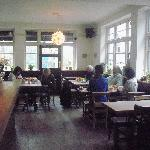 The Restaurant Area at breakfast time