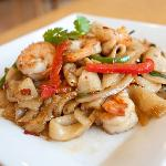 Shrimp Drunken Noodles