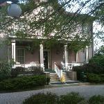 front porch, main entrance