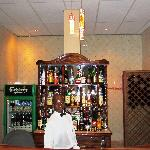Our friendly barman ready to serve you :)