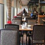 Inside restaurant. picture takne from entrance