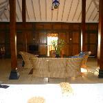 Villa One's living area