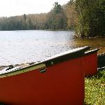 Rowboats, canoes, and kayaks are included with cottage rentals!