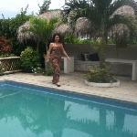 En la piscina de Viejamar, un lugar muy agradable!