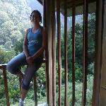 En el balcónde la cabina