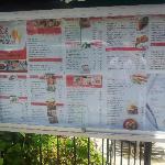 Guan Guan menu