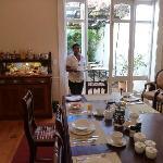 Victorian villa dining room