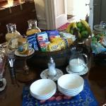 an abundance of choice for breakfast
