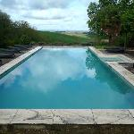 Stunning vista from pool......