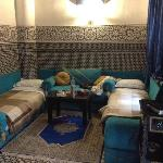 Lounge in Samarqand Suite