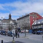 Place J.Cartier con l'hotel de Ville sullo sfondo