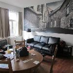 Habitación privada deluxe (uno de los flats)