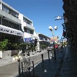 calle del centro de la ciudad