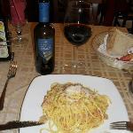 Spaghetti a Carbonara