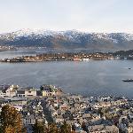 View from Fjellestua