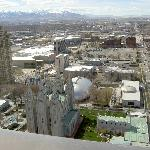 Temple Square and Salt Lake City