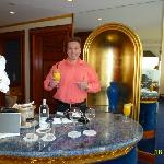 THE BAR OF OUR PANORAMIC SUITE NBR 1212, 12th FLOOR.