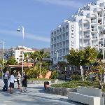 Boulevard en Hotel Helios