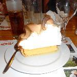 Lemon Meringue - it was delicious