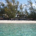 The beach at Pigeon Cay