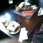 Bar snack at Old Cock Inn