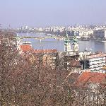 View of the River Danube from Buda