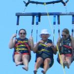 Our friends parasailing in Englewood, FL