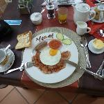 petit déjeuner très coieux